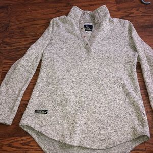 simply southern grey pullover